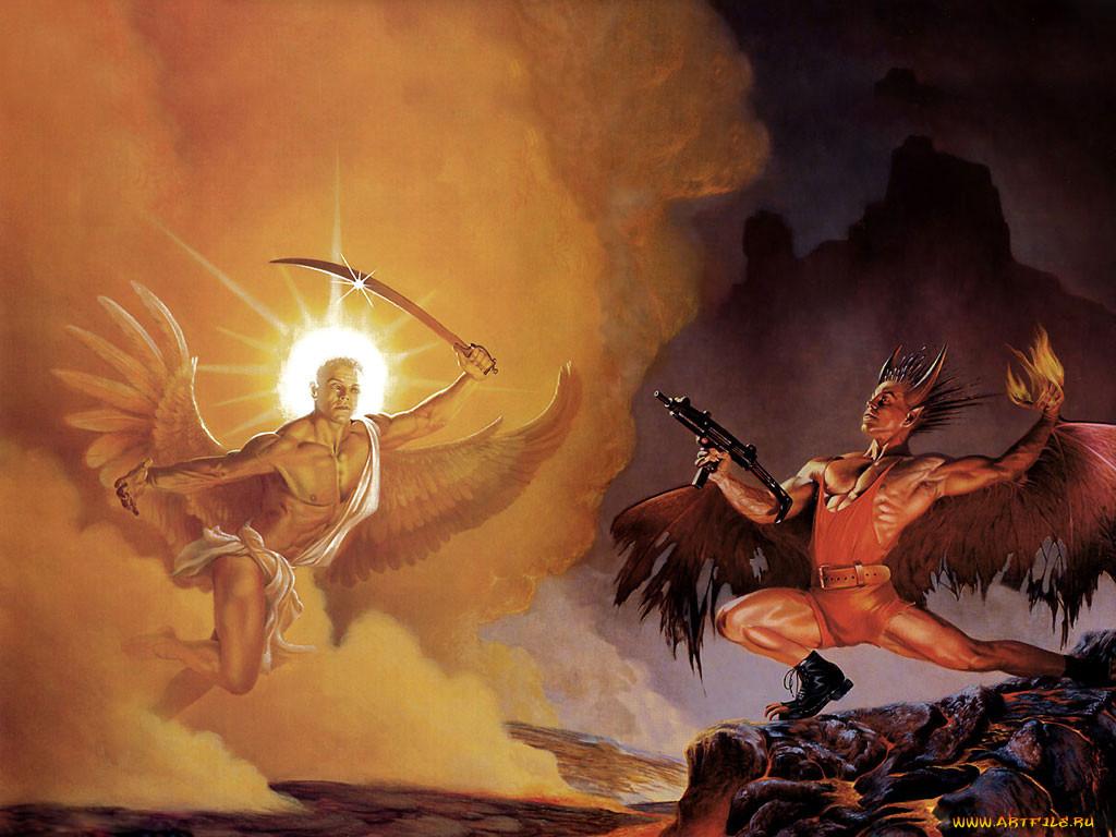 крышку картинки битв ангелов для
